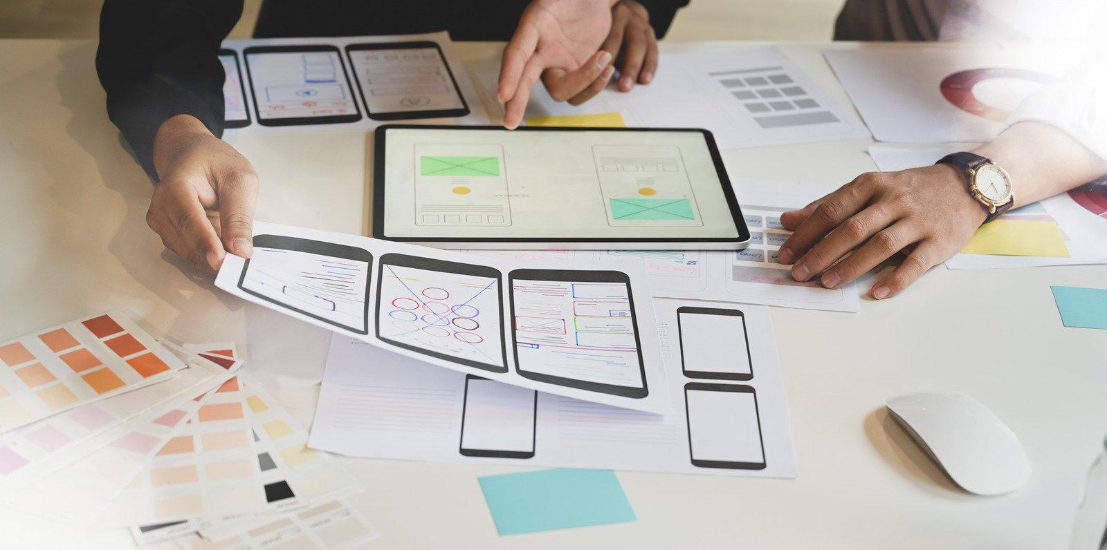 Prototyping - Benefits of cross-platform app development 2
