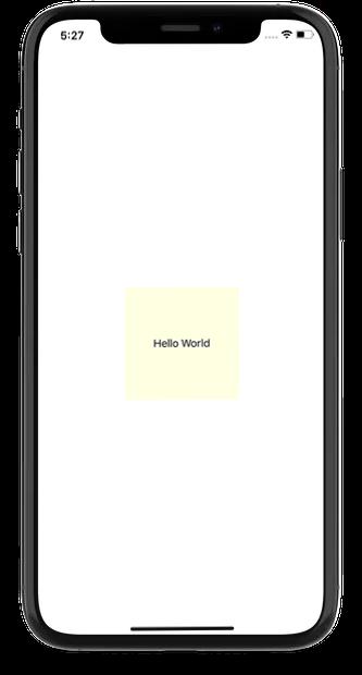 App development solution - Hello world