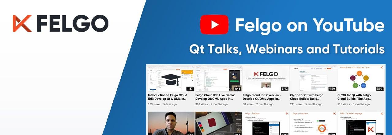 felgo-youtube-channel-qt-talks-webinars-tutorials