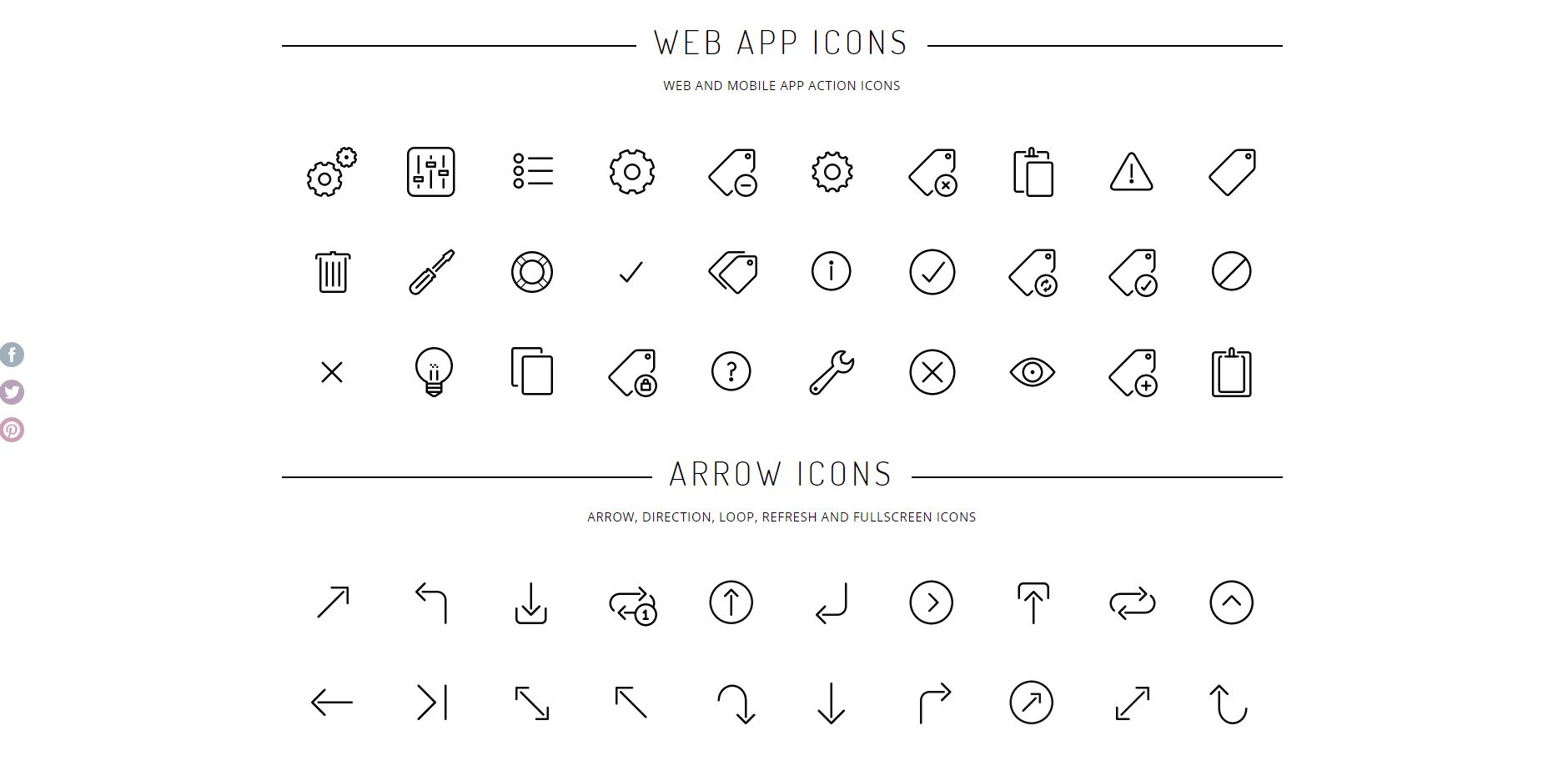 Vector icons - AppBits 2020