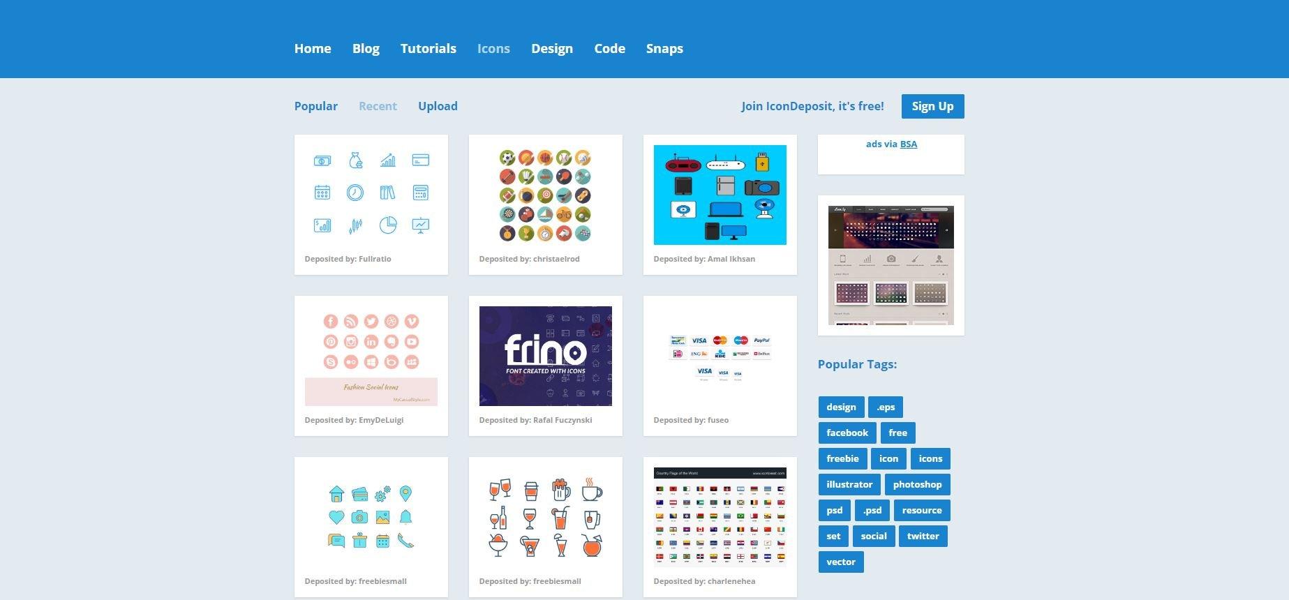 Vector icons - IconDeposit 2020