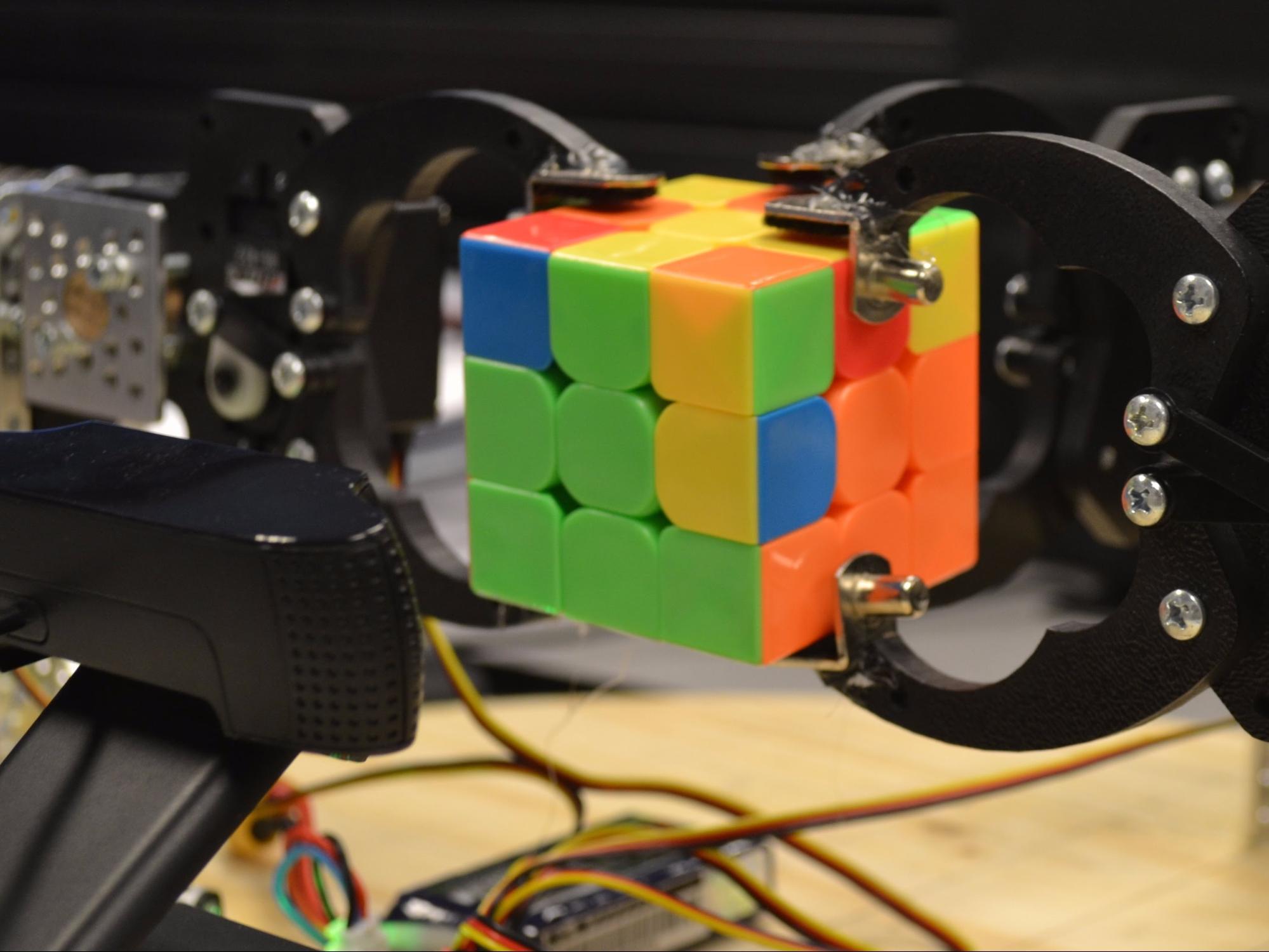 Microcontroller Comparison - beagleboard rubik solver robot