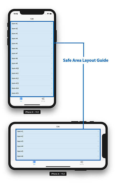 safe-area-layout-guide-iOS-notch-iphonex