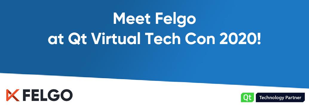 Meet Felgo at Qt Virtual Tech Con 2020!
