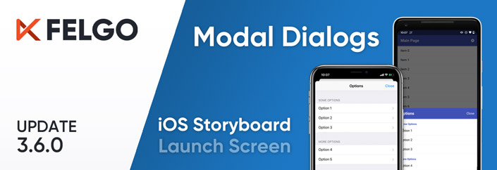Release 3.6.0: Modal Dialogs and iOS Storyboard Support for Qt & Felgo