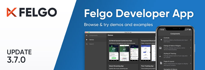 Release 3 7 0 The New Developer App And The Best Examples And Demos For You