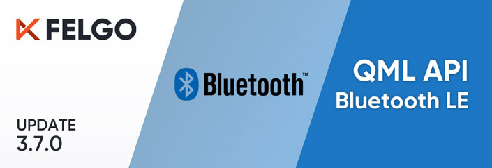 Release 3.7.0: Bluetooth LE (Low Energy) with QML, Apple Sign In, Secure Keychain Storage