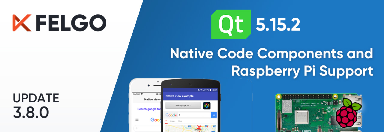 Release 3.8.0: Call Native APIs from QML with JavaScript, Build for the Raspberry Pi and Update to Qt 5.15.2