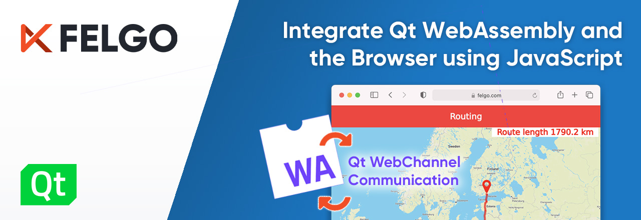 How to Integrate Qt WebAssembly (WASM) and the Browser using JavaScript